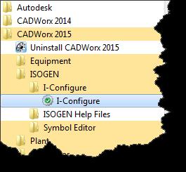 Starting I-Configure