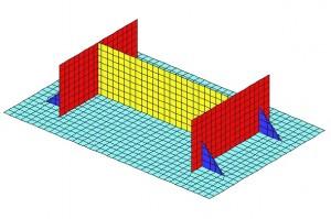 GT STRUDL: Base Plate Design