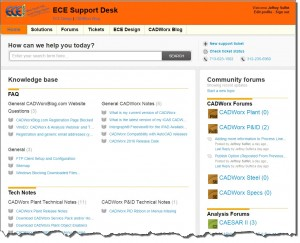 ECE Support Desk