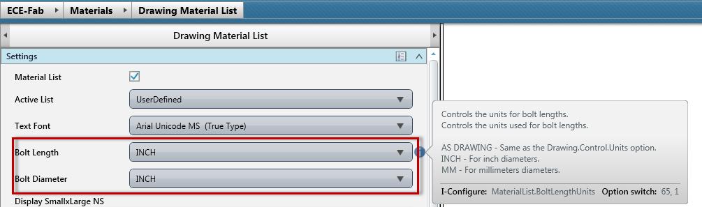 I-Configure Setting