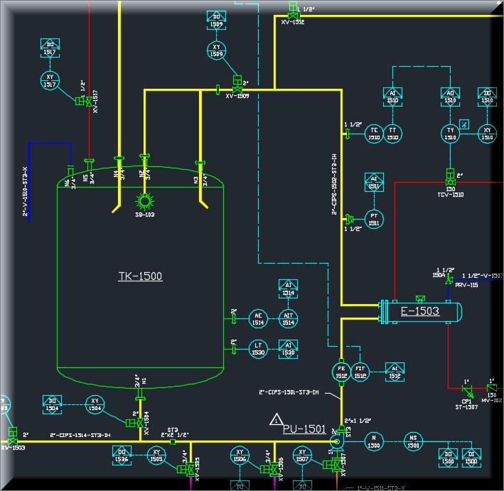 cadworx p&id professional clinical trial flow diagram  complex process flow diagram