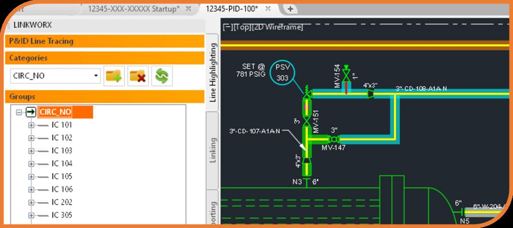 ECE Worx Plugin: LINKWorx - The 'Must Have' CADWorx™ P&ID