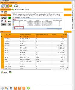 MTOWorx Nozzle Schedule Export
